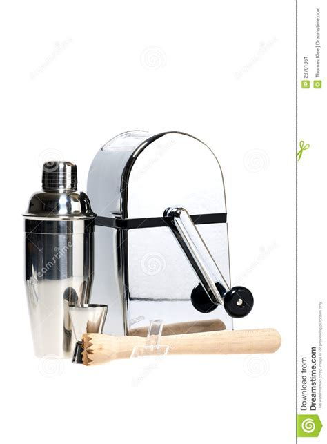 Drinks Bar Accessories Cocktail Bar Accessories Stock Image Image 28791361