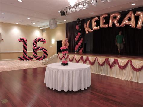 sweet 16 decoration ideas home ideas of sweet 16 decorations the latest home decor ideas