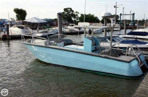 24 center console boats for sale 1973 used sea ray custom 24 center console fishing boat