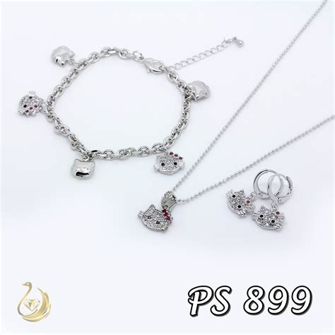 Perhiasan Set Xuping By Mds Shop cincin hello emas pusat perhiasan hello