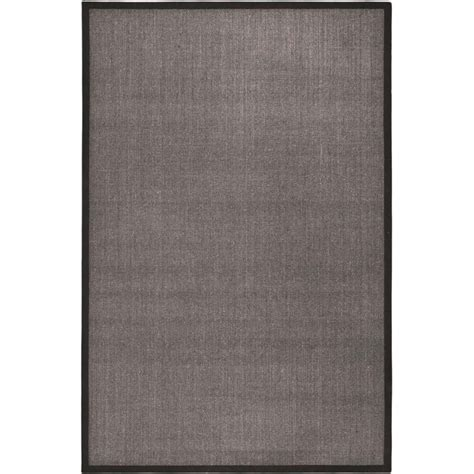 11 x 15 area rug safavieh fiber charcoal area rug 11 x 15 nf441d 1115