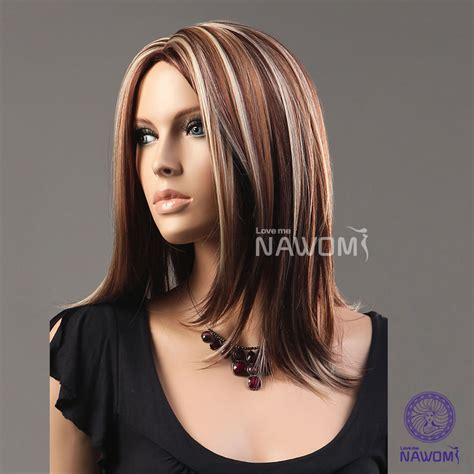 hairstyles color highlights pictures 19 inches medium length hair blonde color highlights for