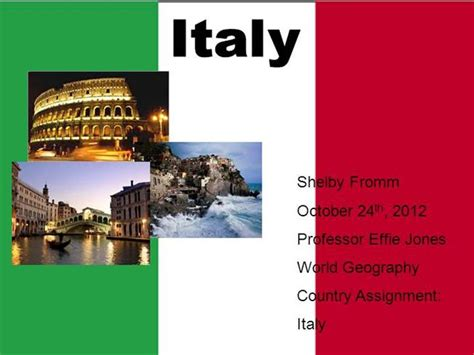 Italy Powerpoint Authorstream Italian Powerpoint Template