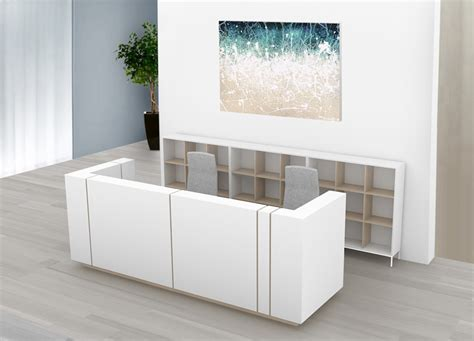 used reception desk reception desks new used office furniture glasgow