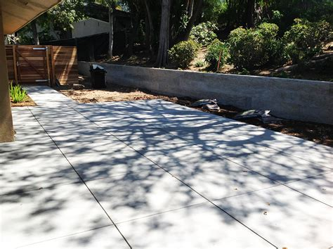 Poured Concrete Patio by Patio Redo Archives Design Intervention Diary