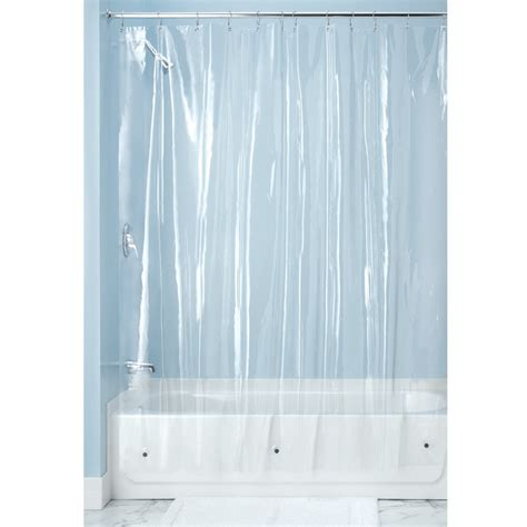 Plastic Shower Curtains Interdesign Vinyl Shower Curtain Wayfair