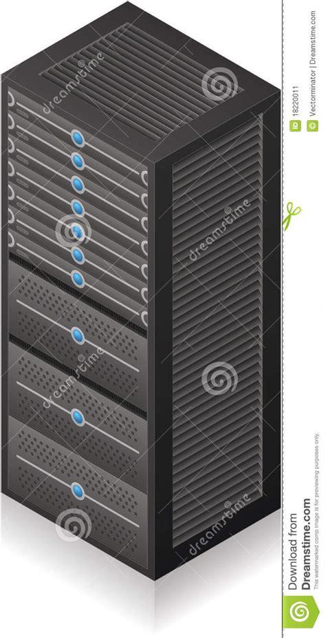 Server Rack Hardware by Server Rack Stock Image Image 18220011