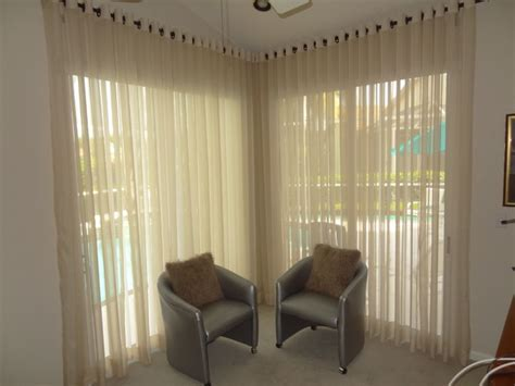 Bedroom Modern Window Treatments Modern Sheer Window Treatments Modern Bedroom Miami