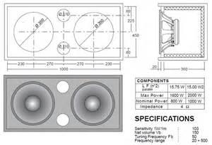 Bass Cabinet Design Diy Plans 15 Speaker Cabinet Plans Pdf 16 000