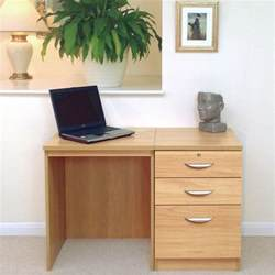 Small Office Desk With Drawers Home Office Set 2 Small Desk Three Drawer Filing