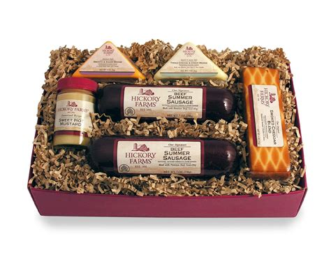 hickory farms holiday celebration gift set food