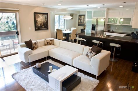 Living Room And Dining Room Combo by