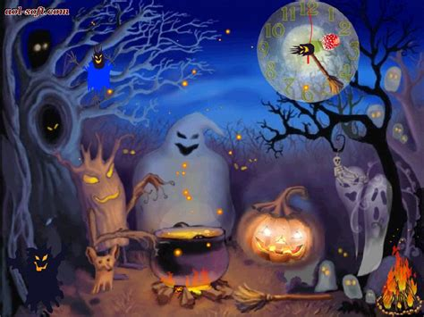 pc themes live happy halloween live animated wallpaper screenshot