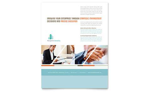 design management consultants management consulting flyer template design