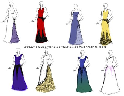 dress design draft photo garment design home