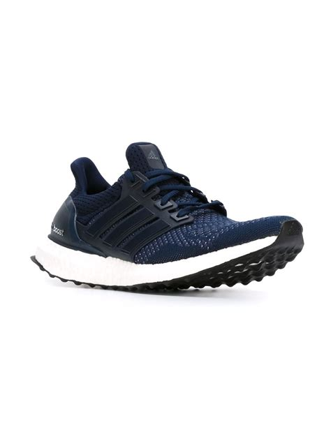 adidas boost men adidas ultra boost sneakers in blue for men lyst