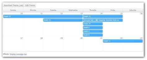 css calendar tutorial online css theme designer for monthly calendar daypilot