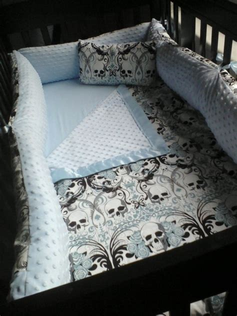skull crib bedding regent skull crib set baby pinterest