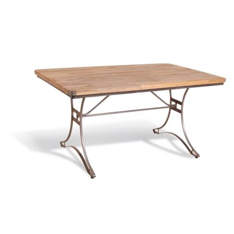 re engineered rectangle dining table mango wood cult uk
