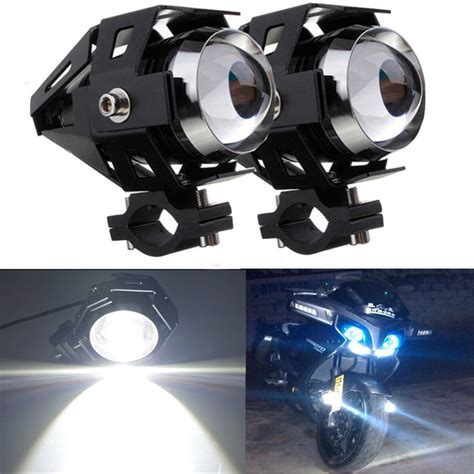 Led Motorcycle Headl u5 led motorcycle light driving spot fog l 125w 3000lm lazada ph