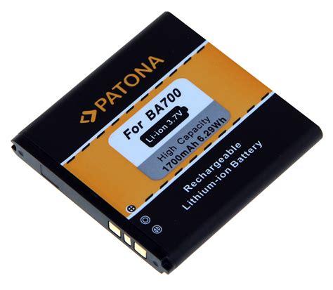 Batre Baterai Battery Sony Xperia Miro Tipo Ba700 Ba 700 Original patona battery for sony ericsson ba700 xperia e c1504