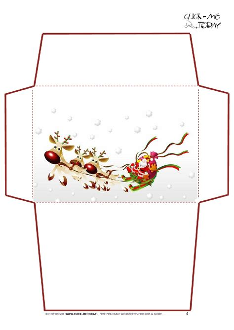 printable christmas envelope designs printable letter to santa claus envelope template santa