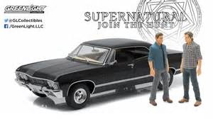 Dean Chevrolet Get Rolling With This Supernatural Die Cast Metal Vehicle