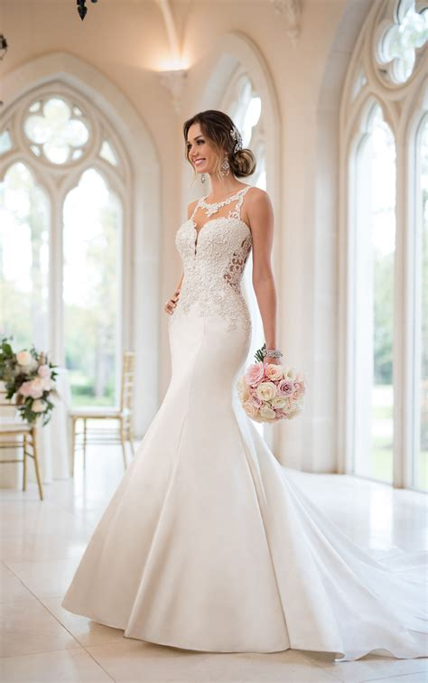 Style Wedding Gowns by Mermaid Wedding Dresses Beaded Mermaid Wedding Gown