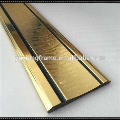 decorative chair rail molding new arrival gold color ps decorative chair rail molding
