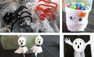 Simple Kids Halloween Crafts - easy halloween crafts for kids