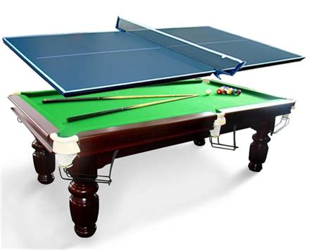 new 16mm pro size pool table tennis ping pong table top