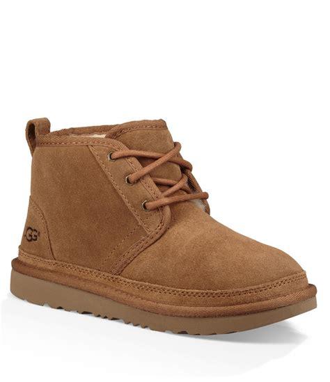 boy uggs boots ugg 174 boys neumel ii suede booties dillards