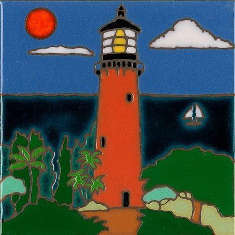 Lighthouse Detox Jupiter Florida by Jupiter Inlet Lighthouse Painted Ceramic By