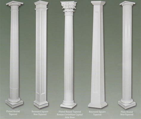 Fiberglass Columns Products Colonial Pillarscolonial Pillars