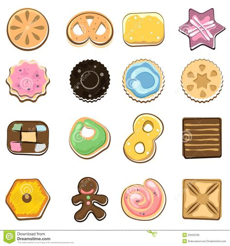 cookie doodle free doodle cookies stock vector image of preserves
