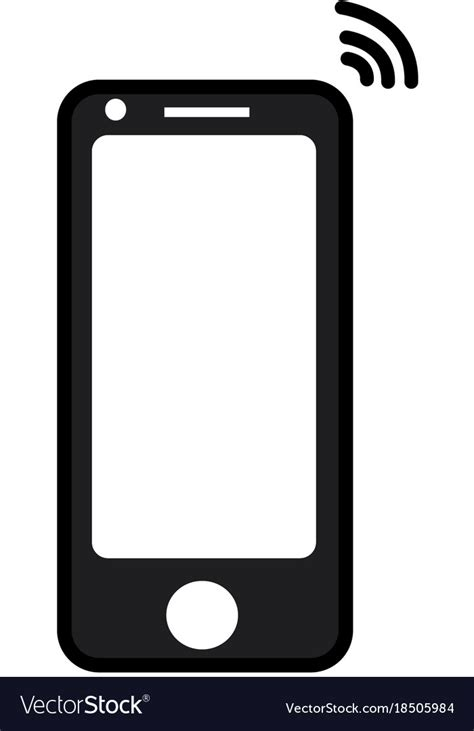 mobile phone icons mobile phone icon royalty free vector image vectorstock
