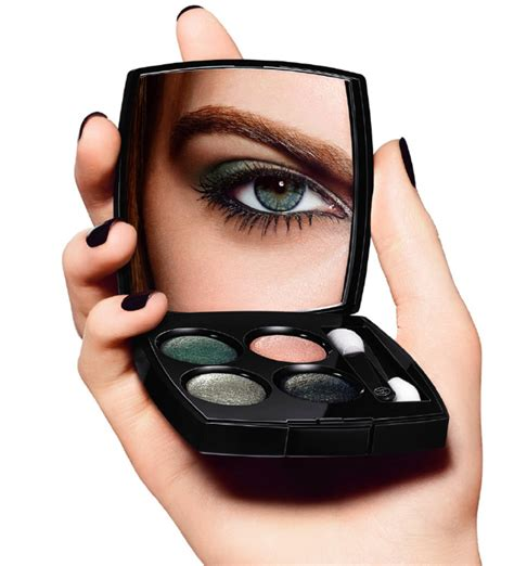 Eyeshadow Chanel chanel eye makeup chart how to wear chanel les 4 ombres