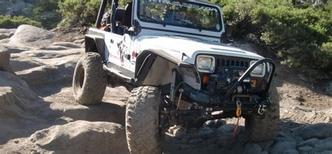 Jeep Without Fenders Arched Fenders For Jeep Wranglers Yj Tj Lj