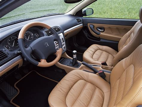 Interior Peugeot 406 Coup 233 Worldwide 2003 05