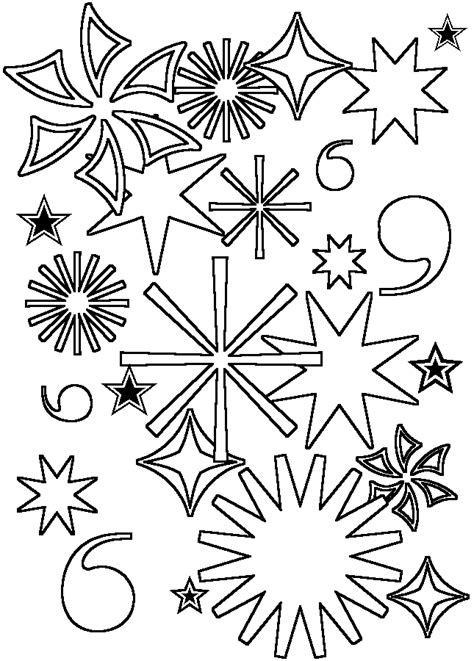 Coloring Activity Pages Fireworks Coloring Page Fireworks Coloring Pages