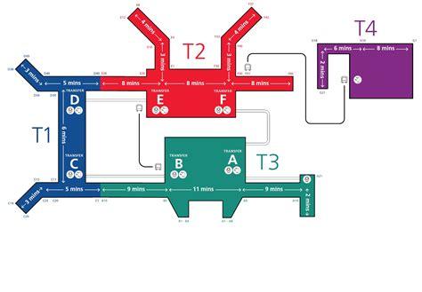 map of singapore airport terminals changi airport