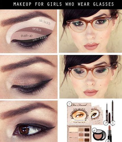 natural makeup tutorial for glasses best 25 makeup for glasses ideas on pinterest nerd