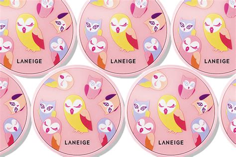 Laneige X Lucky Chouette Limited Clotch bb cushion laneige x lucky chouette phi 234 n bản limited