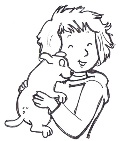 How To Draw Helen And Martha As A Puppy From Martha Speaks Martha Speaks Coloring Pages
