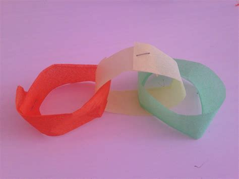How Do You Make Paper Chains - rainbow part decoration cheap rainbow decoration easy