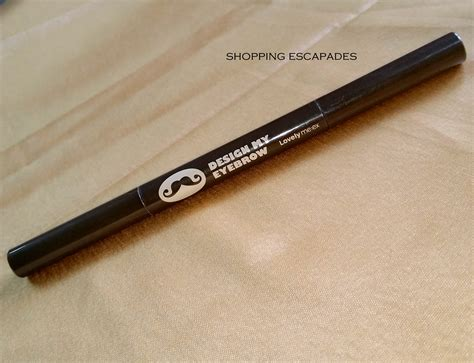 the shop design my eyebrow pencil review