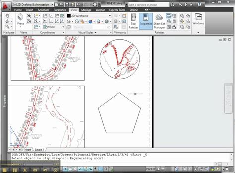 create layout viewport autocad creating multiple and irregular autocad viewports doovi
