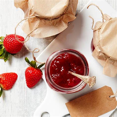 Strawberry Mint Jam jam and marmalade with the flavours of summer dansukker