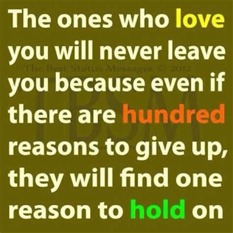 5 Reasons Why Will Never Find You by The Ones Who You Will Never Leave You Because Even If