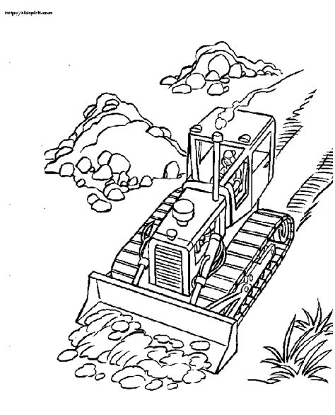 Picture Of Bulldozer Az Coloring Pages Bulldozer Coloring Pages
